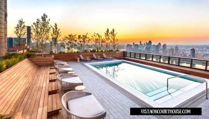 Rooftop Swimming Pool Design